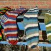 hand gebreide sokken Fair Trade