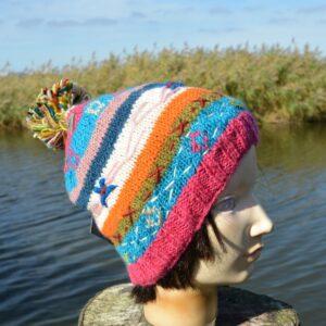 Alternatieve kleurrijke muts Fair Trade