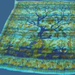 grand foulard met de tree of life