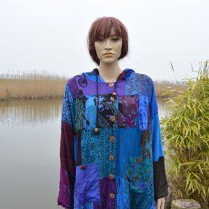 Batik jas Fair Trade grote maten