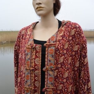 handgemaakt sjaal vest