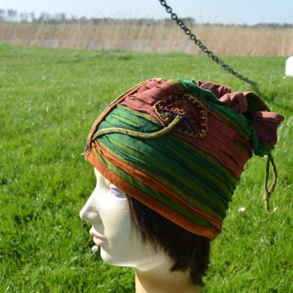 Mushroom hat muts/hoedje met paddenstoelen applicatie