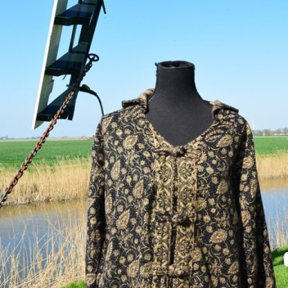 Fair trade vest van wol en viscose