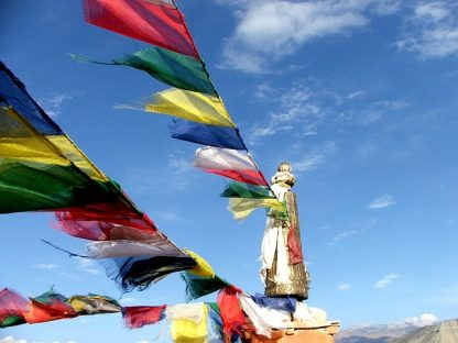 Gebedsvlag Tibet Nepal