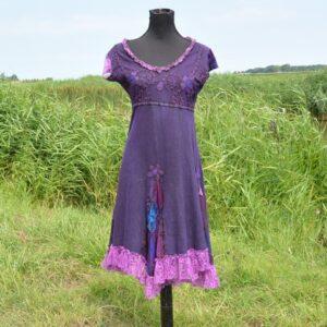 Festival jurk paars
