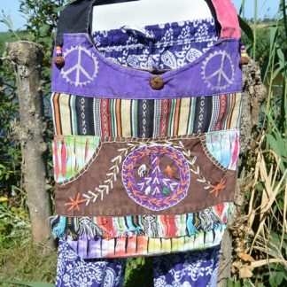Kleurrijke tas Peace