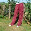 Cargo broek rood gestreept