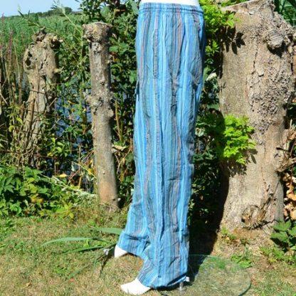 Cargo broek blauw