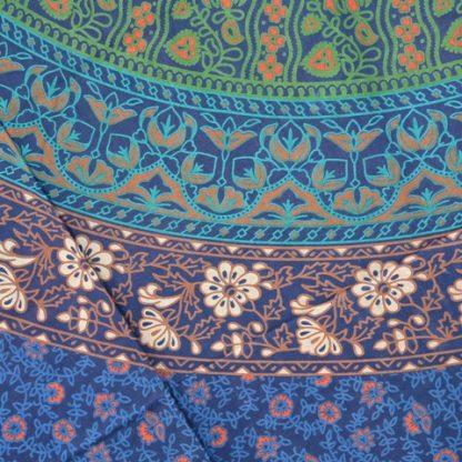 Kleurrijk katoenen kleed, grand foullard
