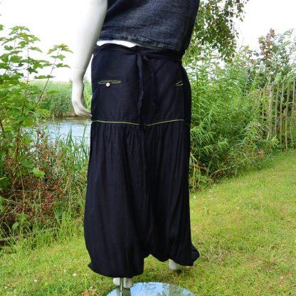 Comfortabele Afghani broek van soepel vallende viscose