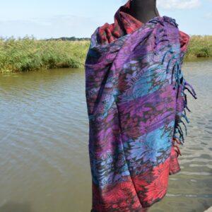 Boho omslag sjaal