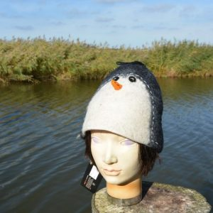 Vilt hoed Pinguïn