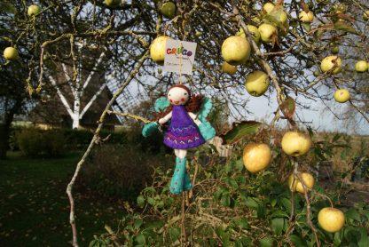 Elfje van vilt handgemaakt Fair Trade