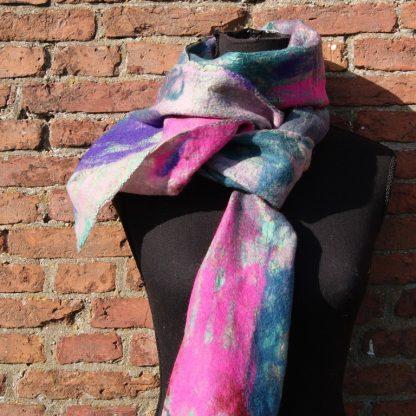 vilt sjaal Fair trade handgemaakt