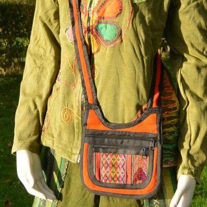 Fair trade kleine schoudertas