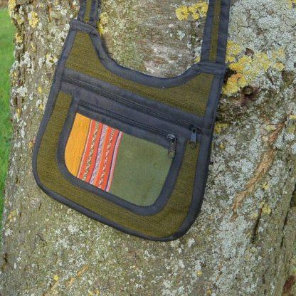 Fair trade handgemaakt schoudertas