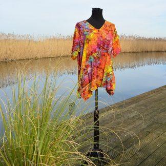 Batik blouses grote maten