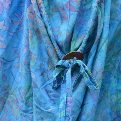 tuniek jurk batik viscose Fair Trade Indonesië