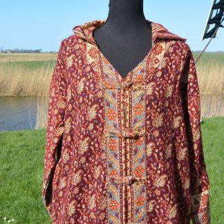 Vest van een sjaal gemaakt Alternatieve kleding