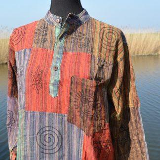 Nepal Opa shirt met lange mouwen