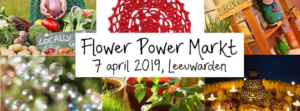 Flower Power Markt Leeuwarden