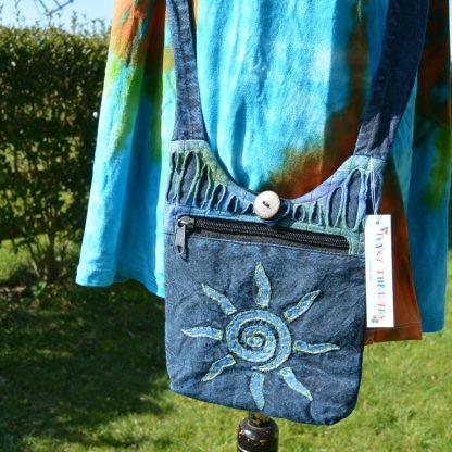 Hippie schouder tas