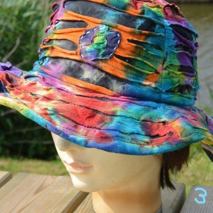 opengewerkte Nepal hoed