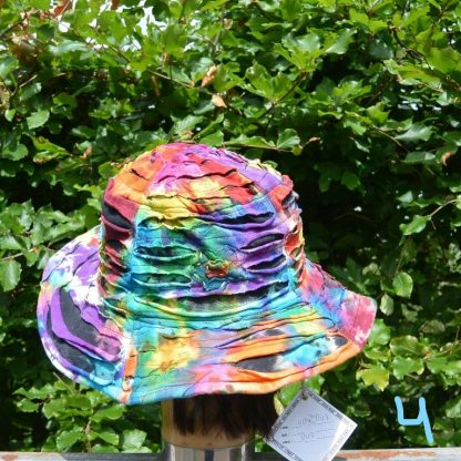 Katoenen kleurrijke hoed