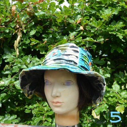 Zomer festival hoed