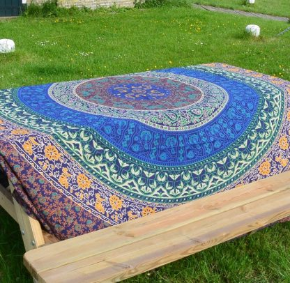 Wandkleed tafelkleed India katoen