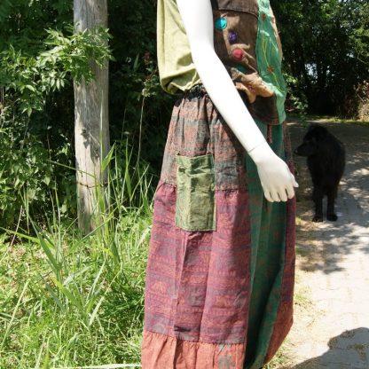 broek in aarde tinten Fair Trade Alternatieve kleding