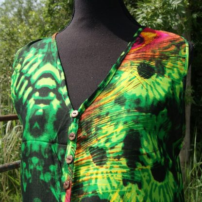 Hawaii blouse zonder mouw