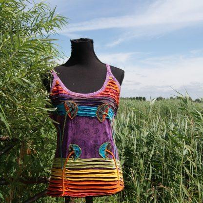 Festival hemdje paars