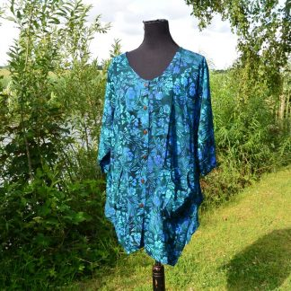 Batik blouse viscose