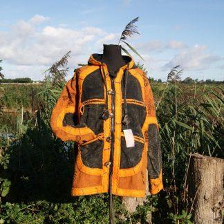Kleurrijke, alternatieve jas - gevoerd