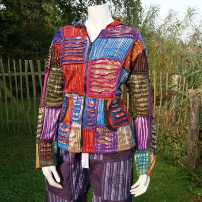 Himalaya kleding vest met capuchon