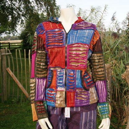 Nepal patch work vest