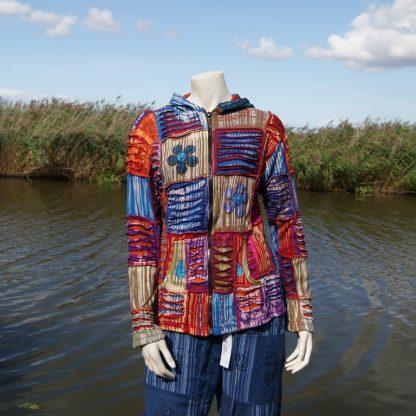 Flower Power hippie vest