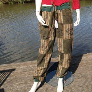 comfortabele broek van katoen