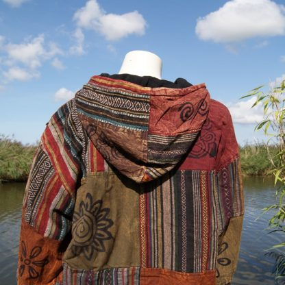 Alternatieve jas uit Nepal Fair trade handgemaakt