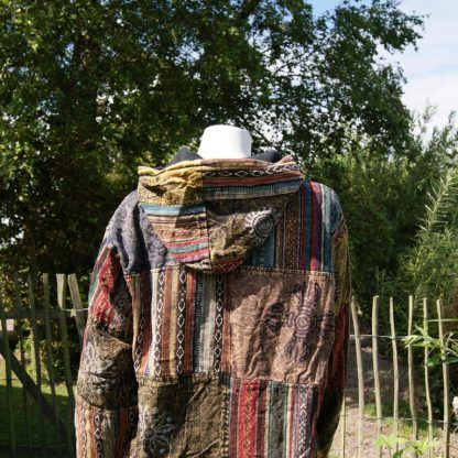 fair trade jas van 100% katoen patchwork