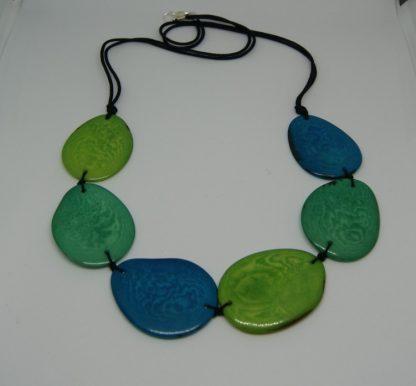 Eco sieraden halsketting van Tagua