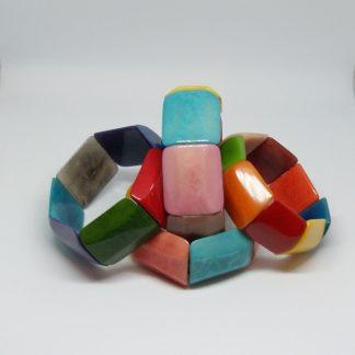 Armband van natuurlijk materiaal