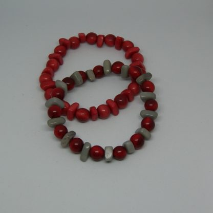 Tagua armbandje rood