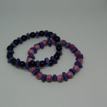 Paarse armband