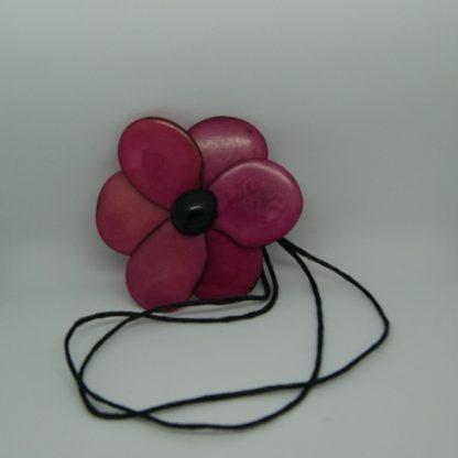 Halsketting met bloem