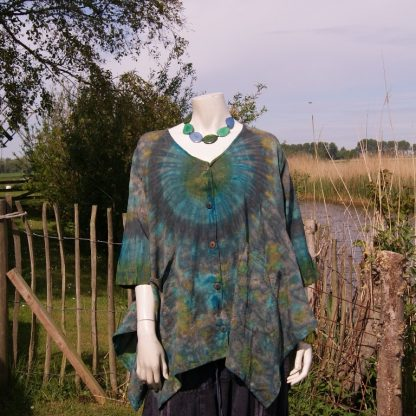 blouse - natuurlijke materialen - fair trade