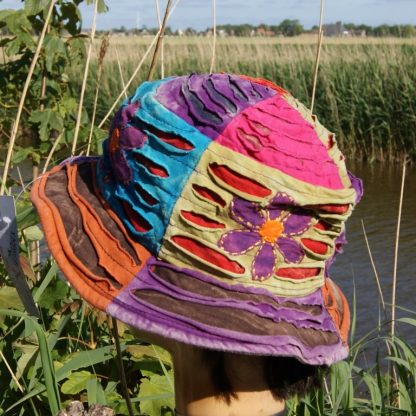Alternatieve kleding - Nepal hoed - Funky Threads - fair trade