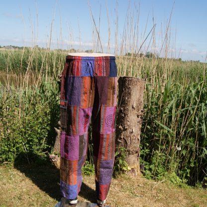 festival - hippie - gipsy - broek - dik katoen