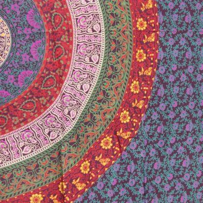 mandala doek - India doek - 140x210 - 100% katoen